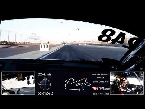 Philip Ellis - Dubai Pole Position - Audi Sport