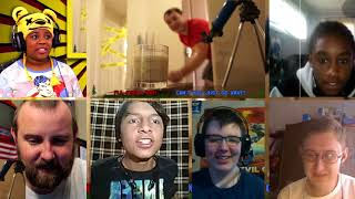 Hello Neighbor: What's In Your Basement (Live Action Musical) [REACTION MASH-UP]#12