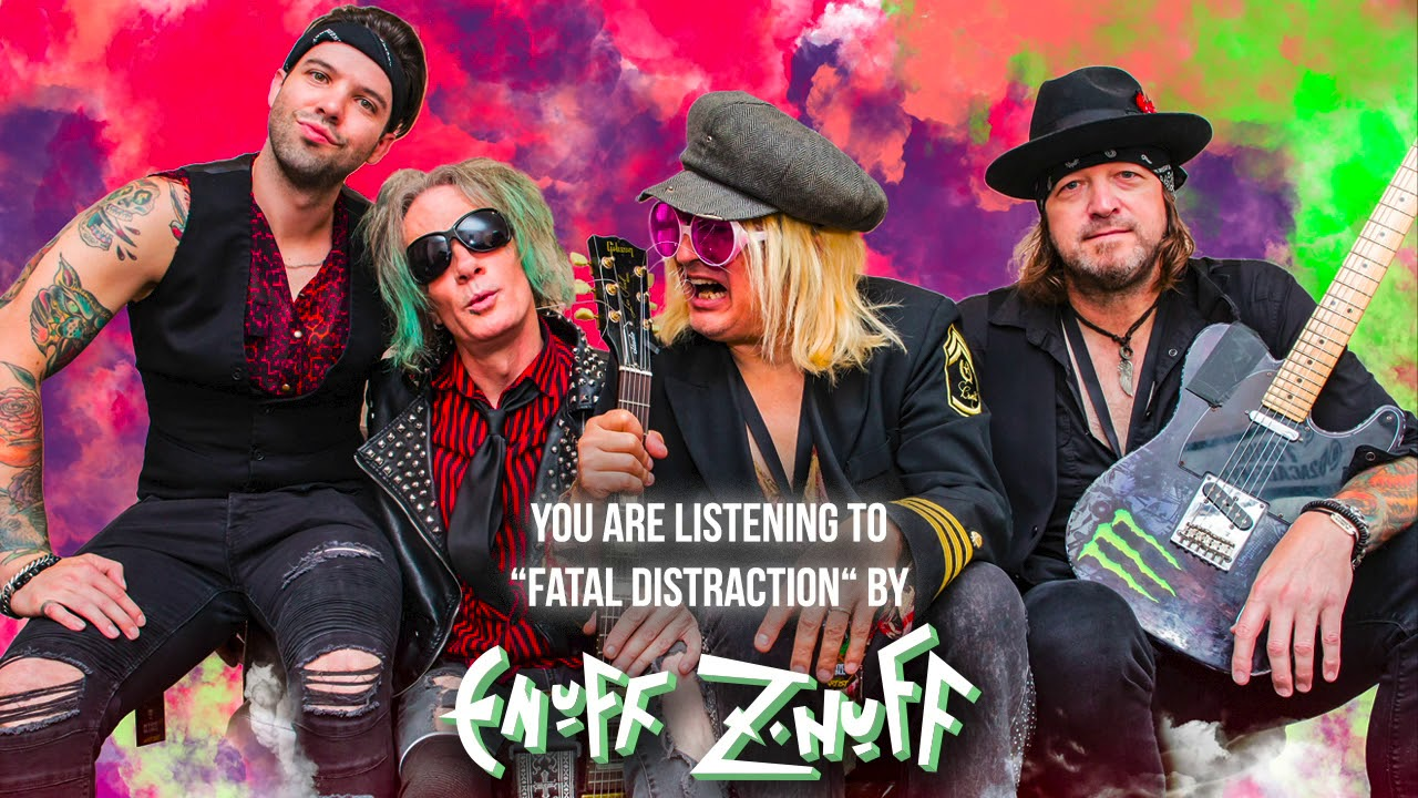 """Enuff Z'Nuff — """"Fatal Distraction"""" — Official Audio"""