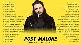 Post Malone Best Pop Music Playlist 2020 - Post Malone Greatest Hits Full Album 2020