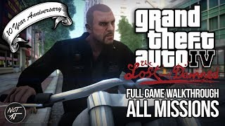 GTA IV: The Lost and Damned - All Missions (HD 1080p60 PC Gameplay) 10 Year Anniversary of TLAD