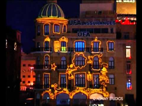UFA Competition 3D Video Mapping