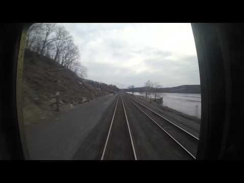 Amtrak Hudson Line: Train 235 Poughkeepsie to Rhinecliff