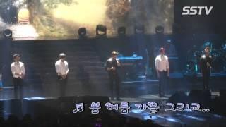 [SSTV] 엠블랙(MBLAQ) 콘서트, 해체? 오늘은 완전체 무대! '5년의 1막 마무리'