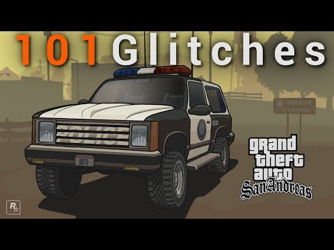 Grand Theft Auto San Andreas: Glitches/Bugs Compilation [101]