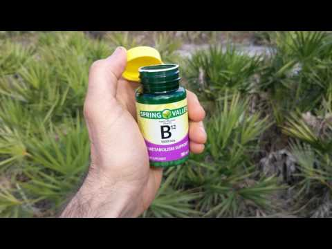 B12 Pills | You Need This Supplement If You're Plant-Based or Vegan