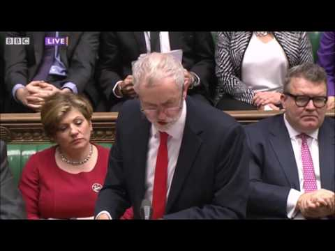 Jeremy Corbyn and Angus Robertson #PMQs