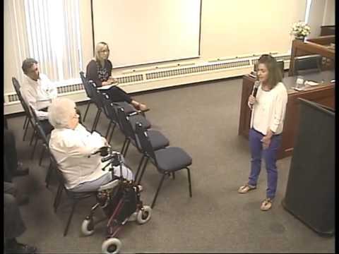 5-26-15 Lynn Jenkins Town Hall Meeting in Ottawa, KS