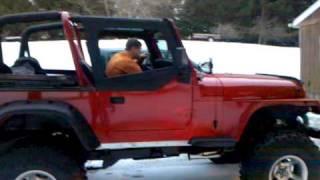 95 jeep wrangler yj 350 v8 open headers: FOR SALE