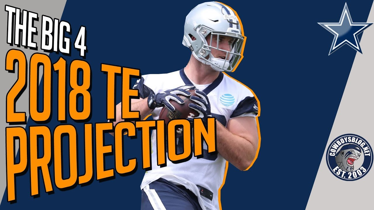 975912f4f Dallas Cowboys Tight Ends Roster Projection | Which TE Make the Cowboys 53  Man Roster