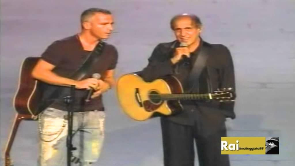 Adriano Celentano Eros Ramazzotti Il Ragazzo Della Via Gluck Rockpolitik 2005 Youtube