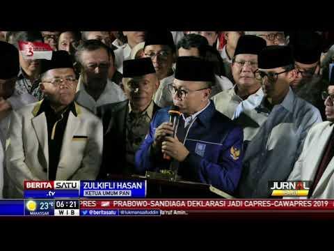 PAN dan PKS Dukung Penuh Prabowo-Sandi