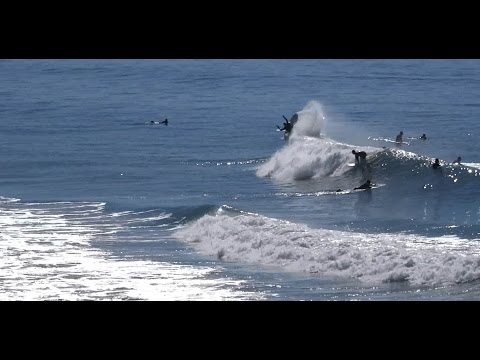 HB 2/7/16 Beach Closed Do To Shark Sighting - (1080p) - Part3