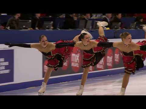 GER) TEAM BERLIN 1 - SP / World Synchronized Championships 2018
