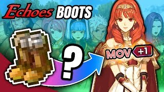 Who To Use The Boots On? - Fire Emblem Echoes Shadows of Valentia (Free Mila's Bounty DLC)