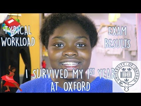 I survived my first year at OXFORD UNIVERSITY + EXAM RESULTS