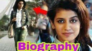 Priya Prakash Varrier -Biography