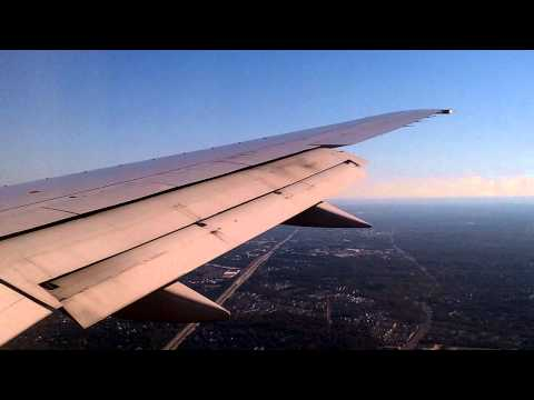 Landing In Washington Dulles International Airport