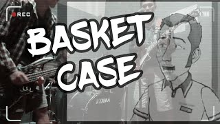 GREEN DAY - BASKET CASE with sadistic cartoon ( Black AKP cover)