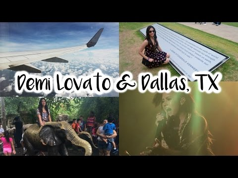 Flying to Dallas, TX for Demi Lovato!