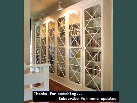 Wall Mounted Shelving Picture Ideas Bookshelves With Glass Doors