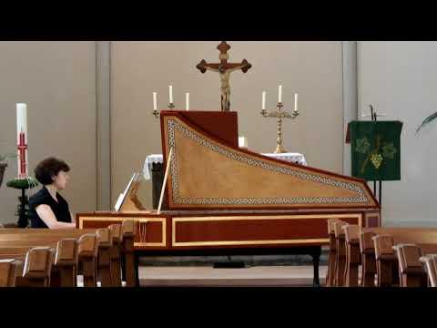 Dietrich Buxtehude Aria with 32 Variations La Capricciosa Brigitte Hertel Harpsichord