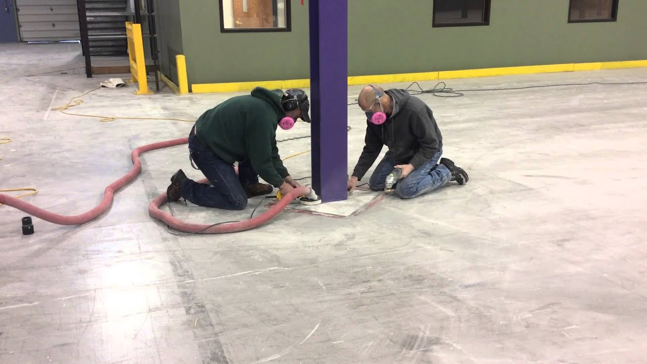 Diamond Grind Surface Preparation for Garage Floor Epoxy Coating ...