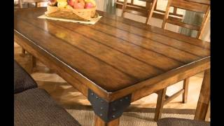 Rustic dining room tables ideas