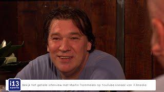 Wat gebeurde er met de prijs die Martin Trommelen kreeg voor zijn 700ste wedstrijd voor Trappers?