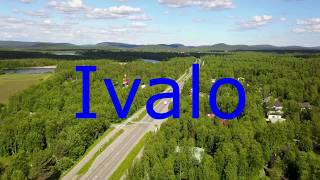 Ivalo from 50 m high