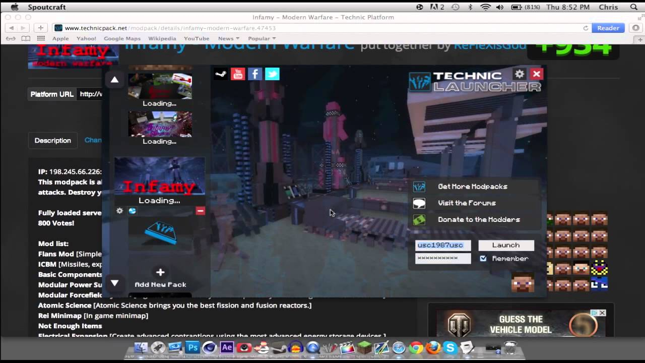 technic launcher how to add more ram