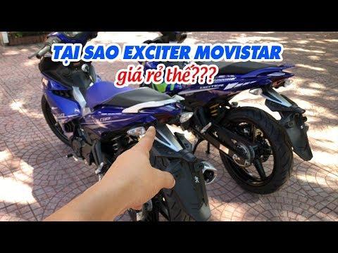 Tại sao Exciter 150 Movistar 2017 giá rẻ như GP và nhiều thế?