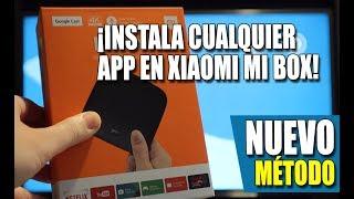 NUEVO METODO - Instala cualquier app en Xiaomi Mi Box 4K
