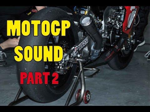MOTOGP Start Engine Sound Compilation PART 2 (HONDA, YAMAHA, SUZUKI,...)