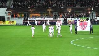 Entrée des joueurs Brest - Nancy - Samedi 5 Février 2011.MP4