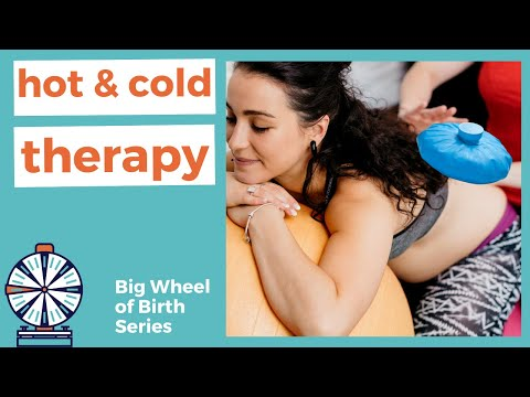 HOT & COLD: Using heat & cold therapy for natural pain relief in labor, managing without medication