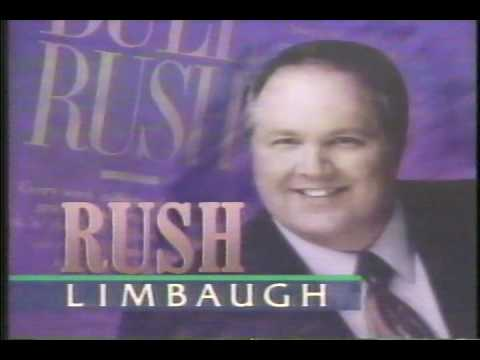 Rush Limbaugh TV Show: Early 1993 Part 1