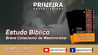 ✅Quarta 02/06 às 19h30 | Estudo Bíblico Semanal Presencial