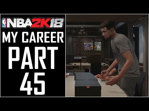 "NBA 2K18 - My Career - Let's Play - Part 45 - ""Custom Shoe Colorway, Silver Relentless Finisher"""