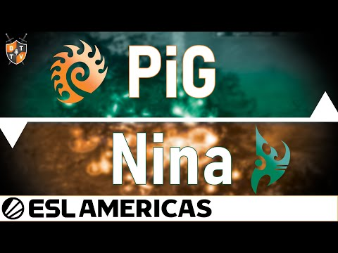Battle Of The Streamers! PiG V. Nina [ZvP] - ESL Americas - Professional StarCraft 2