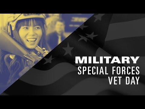 The Los Angeles Film School: Special Forces Vet Day