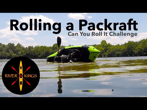 Rolling A Packraft -  Alpacka Raft Gnarwhal