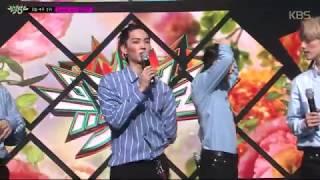 [뮤직뱅크] 3월 4주 1위 GOT7 - 'Look' 세리머니 Cut 20180327 Video