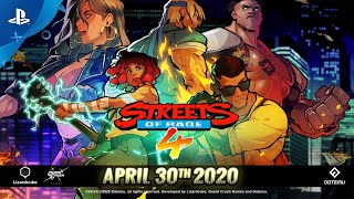 Streets of Rage 4 - Battle Mode and Release Date | PS4