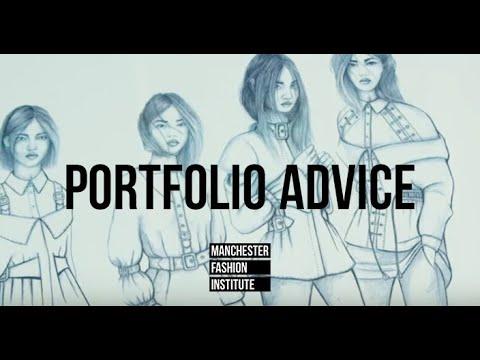 Portfolio Advice Ba Hons Fashion Design Technology Youtube