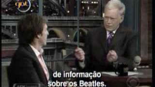paul mccartney david letterman com legendas parte 1 2