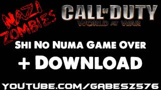 CoD5 Nazi Zombies - Shi No Numa Game Over + Download