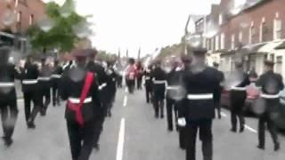 Prussian Glory - UVF Regimental Band - East Belfast - Ulster