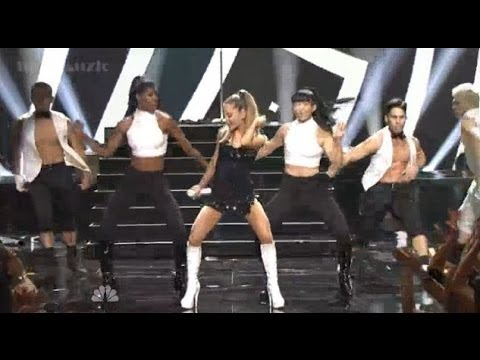 Ariana Grande performing The Way  Problem on the iHeartRadio Music Awards HD
