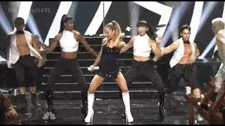 Ariana Grande performing The Way / Problem on the iHeartRadio Music Awards (HD)